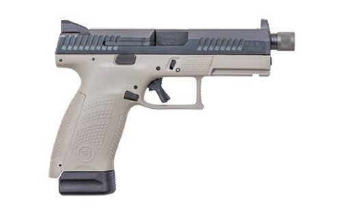 "CZ P-10 C Double 9mm 4.61"" Barrel Gray Interchangeable Backstrap 17rd Mag"
