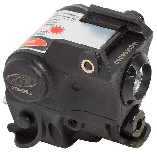 DMA XTS Green Laser, Light Green Laser Sub-Compact Pistol, Rail Under