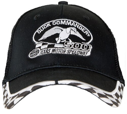 Duck Commander Logo Hat Mesh Black One Size Cotton/Poly