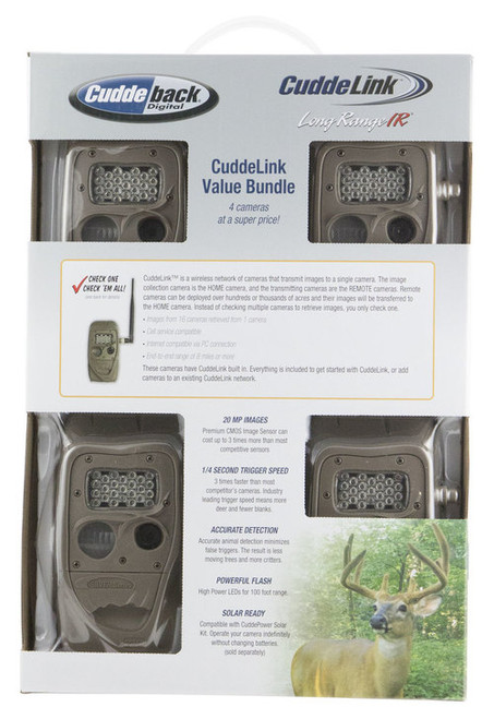 Cuddeback Long Range IR X 4 Pack