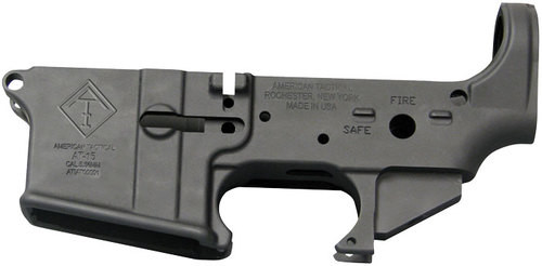 ATI AR-15 Stripped Lower Receiver, 5.56/223/6.8/6.5 Grendel/224 Valkyrie Aluminum