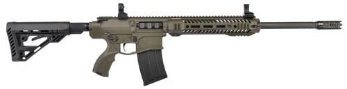 """UTAS XTR-12 OD Green Cerakote 12 Ga 18"""" Barrel 5-Position Synthetic, Pistol Grip, 5rd Mag"""