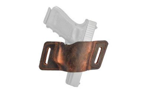 Versacarry QuickSlide Size 3 Glock 42/43, Water Buffalo Brown