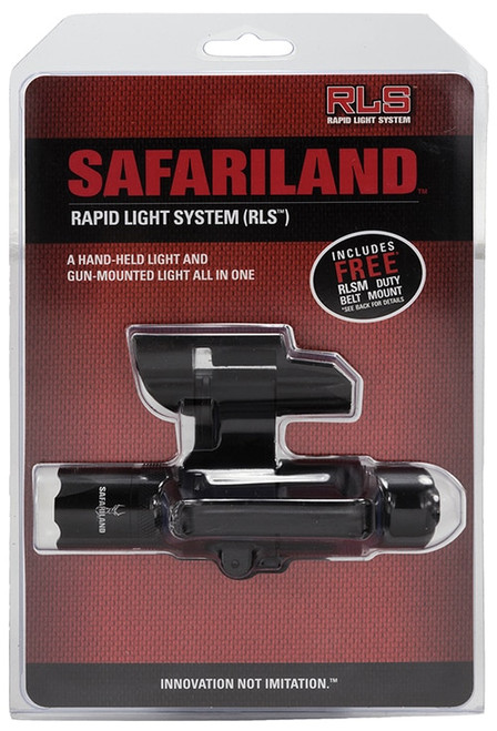 Safariland Rapid Light System & Mount Ambidextrous AAA(3) Black