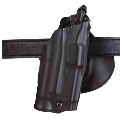 "Safariland, 6378, Paddle Holster, Right Hand, Black, 3.75"", Fits Glock 30S, Plain, Laminate"