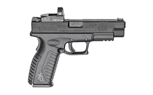 "Springfield XDM 9mm, 4.5"" Barrel, 3 Sight Bases, Black, 10rd"
