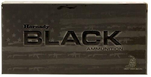 Hornady Black 5.56 NATO 62gr FMJ 20rd Box, 81263