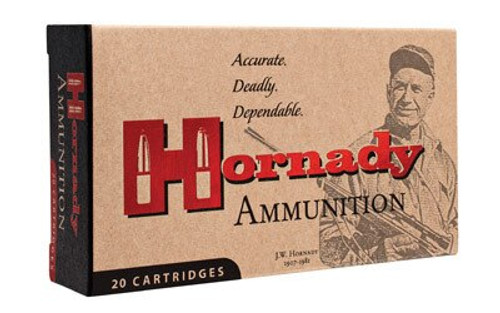 Hornady Custom 22 Hornet 45gr, Soft Point, 50rd Box