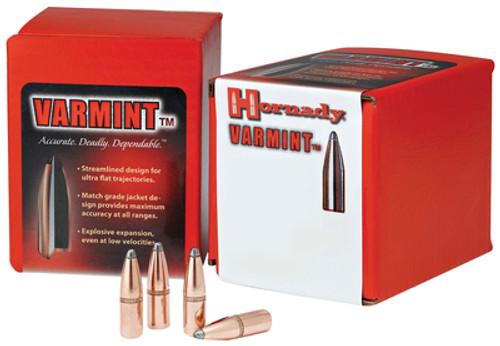 Hornady Rifle Bullets .243 Diameter 100gr Soft Point InterLock, 100/Box