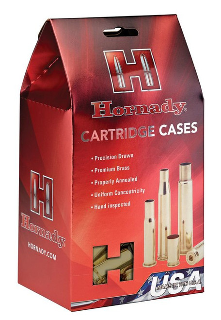 Hornady Unprimed Cases 7mm Winchester Short Magnum, 50/Bag
