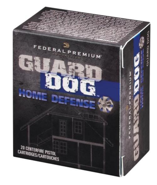 Federal Premium Guard Dog .45 Auto 165gr, JHP Guard Dog 20rd Box