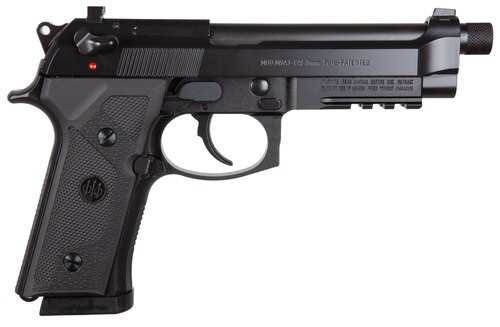 "Beretta M9A3 9mm 5.2"" Threaded Barrel, Black, 3- 10rd Mags"