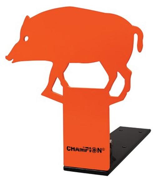 Champion Pop-Up .22 Rimfire Auto Reset Metal Target Hog