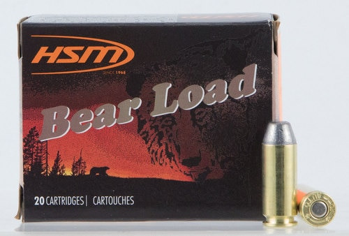 HSM Bear Load 10mm 200gr, RNFP, 20rd Box