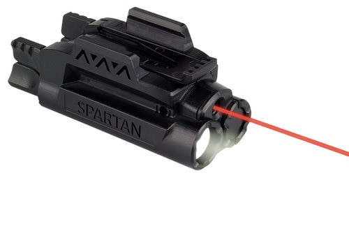 LaserMax Spartan Light and Laser Red Picatinny Mount AAA