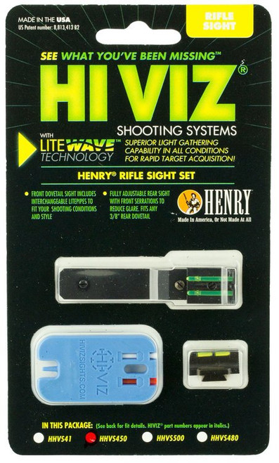Hiviz LiteWave Henry Frontier Fiber Optic Green Black