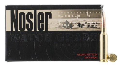 Nosler Match Grade RDF 6.5 Creedmoor 140gr Hollow Point Boat Tail 20rd Box