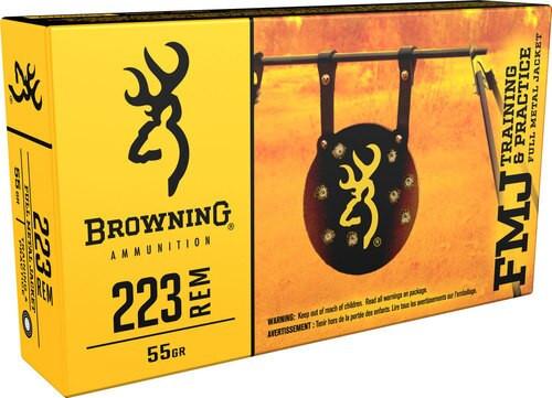 Browning BPT Performance 223 Rem/5.56 NATO 55g,r Full Metal Jacket, 20rd Box