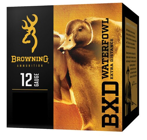 "Browning BXD Extra Distance Waterfowl 12 Ga,3"", 1-1/4oz, 3 Shot, 25rd/Box"