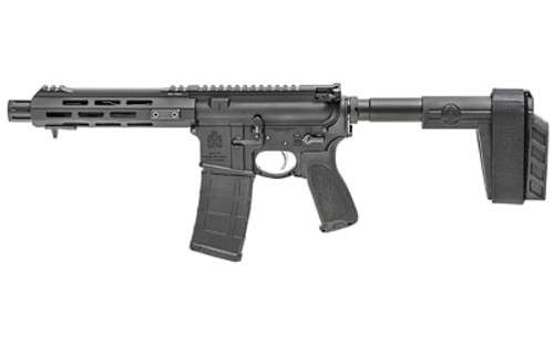 "Springfield Saint AR-15 Pistol 223 Rem, 556, 7.5"" Barrel, SB Stabilizing Brace, M-LOK Rail 10rd Mag"