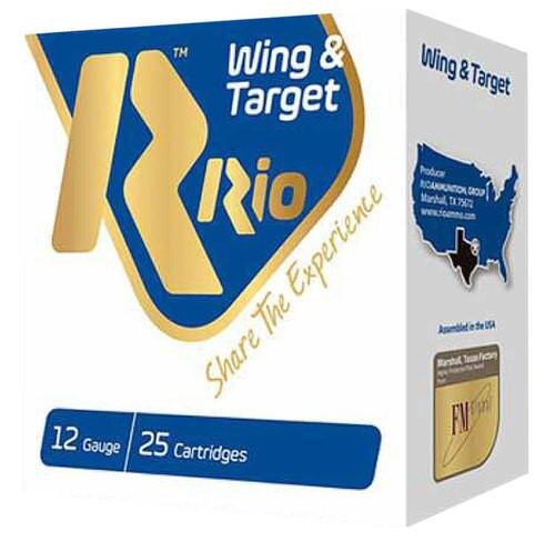 "Rio Ammo Wing/Target 12 Ga, 2.75"", 1oz, 250rd/Case"