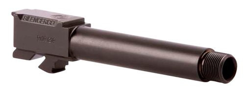 "SilencerCo Threaded Barrel 9mm 3.39"" Black"