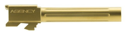 """Agency Arms Mid Line Compatible with Glock 17 9mm 4.48"""" Titanium Nitride Fluted"""