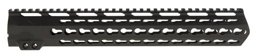 Aim Sports AR Keymod Handguard Rifle 6061-T6 Aluminum Black Hard Coat, Low, 13.5""