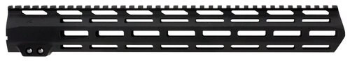 Aim Sports AR M-Lok Handguard Rifle 6061-T6 Aluminum Black Hard Coat, Low, 15""
