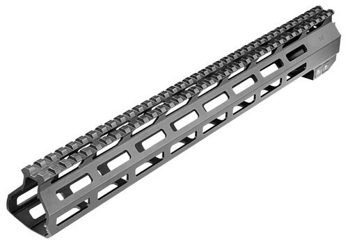 "Aim Sports AR-15 M-LOK 15"" Aluminum Black/Anodized 15"""