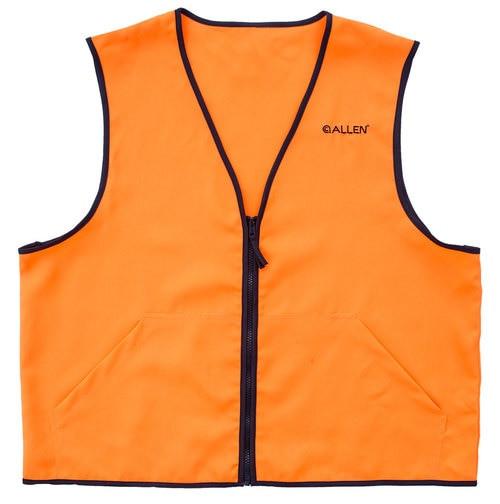 Allen Deluxe Blaze Orange Hunting Vest Large