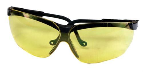 Howard Leight Genesis Glasses Black Frame, Amber Lens
