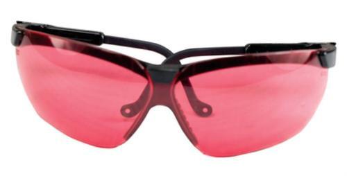 Howard Leight Genesis Glasses Black Frame Vermillion Lens
