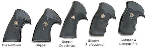 Pachmayr Gripper Pistol Grip Ruger GP-100 Black Rubber