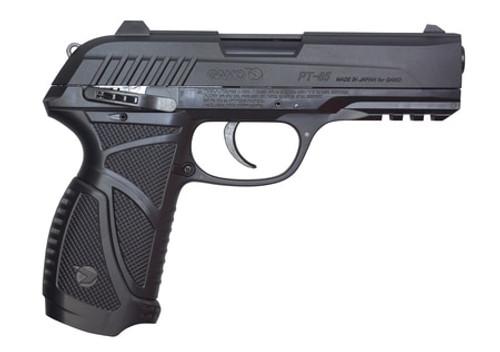 Gamo PT-85 Blowback Air Pistol, .177, Pellet, Fixed Sights, Black, 16rd