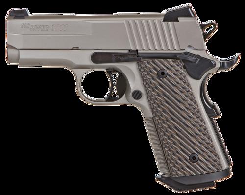 "SiG 1911 Ultra Compact Single 45 ACP 3"" Barrel 7rd Mag"