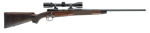 "Winchester Repeating Arms M70, Super Grade, Bolt, 6.5 Creedmoor, 22"", Blue, Wood, Right Hand, 5Rd, 7.75 lb"