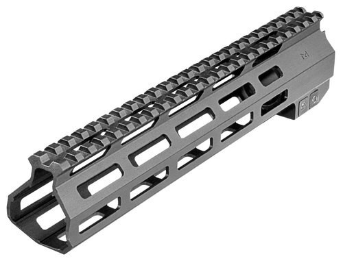 Aim Sports AR-15 M-Lok Rail, 6061-T6 Aluminum Black Anodized, 10""
