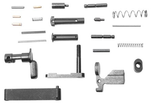 Wilson Combat Lower Receiver Parts Kit AR-15 Black