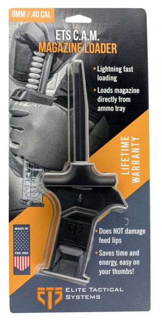 ETS C.A.M. Mag Loader 9mm/40 S&W