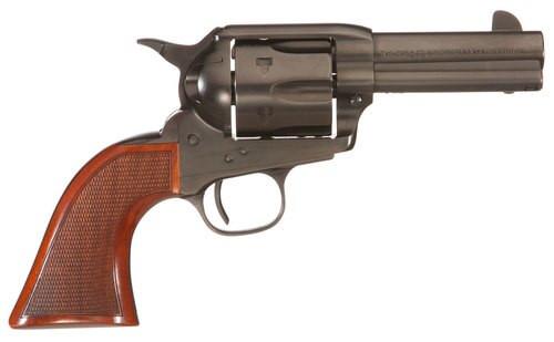 "Taylors Runnin Iron Taylor Tuned Single 45 Colt 3.5"" 6 rd Walnut Grip Black Nitride"