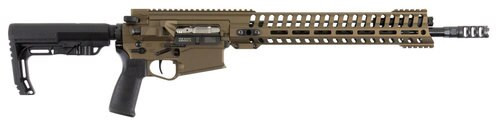 "Patriot Ordnance Factory Revolution Gen4 308 Win, 16.5"" Barrel, Battle Bronze, 11M"
