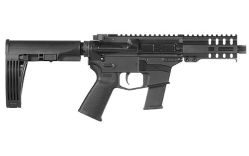 """CMMG MkG Banshee AR-15 Pistol, 45 ACP, 5"""" Barrel, Graphite Cerakote, Pistol Brace, 13rd Mag"""
