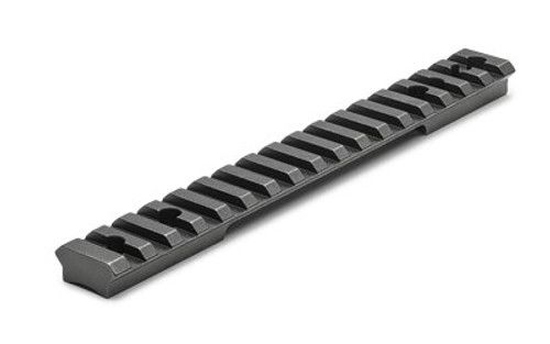 Leupold BackCountry Cross-Slot 1 Piece Base, Savage 110/Axis, Round Receiver, Long Action, 20 MOA, Matte Black