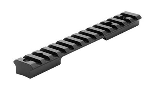 Leupold BackCountry Cross-Slot 1 Piece Base, Remington 700, Short Action, 20 MOA, Matte Black