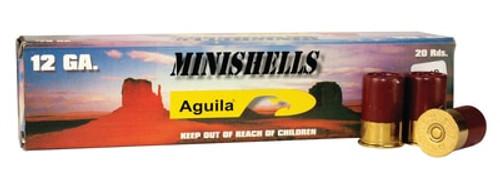 Aguila 12 Ga Mini Buckshot 20rd Box