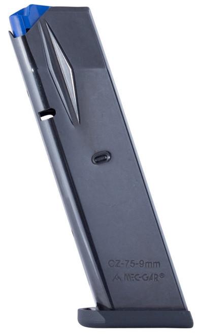MEC-GAR CZ 9mm 10 rd CZ 75 Steel/Polymer Blued Finish