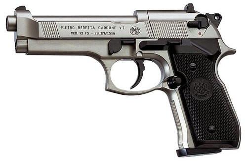 Umarex RWS 92 Air Pistol CO2 .177 Pellet Nickel