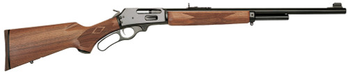 "Marlin 1895 444 Marlin Lever, 22"" Blue Barrel, American Walnut Stock, 5 Round"