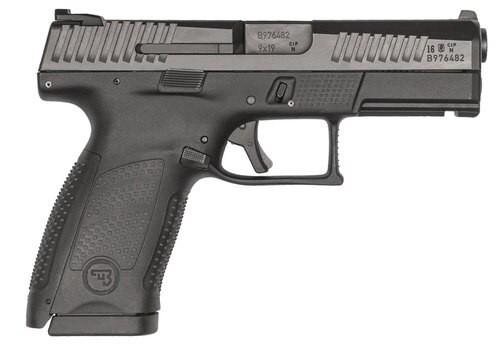 CZ P10 9MM 15RD BLACK NS